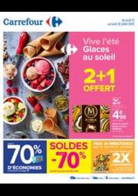 Promos et remises Carrefour Toulouse Purpan : Vive l'été - Glaces au soleil