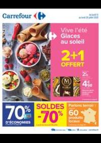 Prospectus Carrefour GENNEVILLIERS : Vive l'été - Glaces au soleil