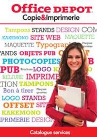 Prospectus Office DEPOT Argenteuil : GUIDE SERVICE COPIE ET IMPRIMERIE