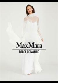 Prospectus Max Mara Paris 8 : Robes de Mariée