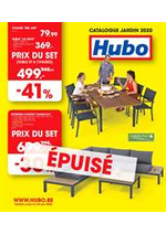 Promos et remises Hubo : Catalogue Jardin