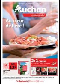 Prospectus Auchan Leers : Au coeur de l'été