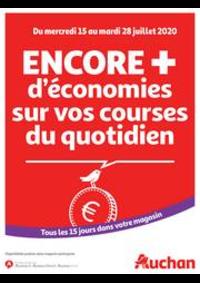 Prospectus Auchan TOULOUSE : Des économies au quotidien