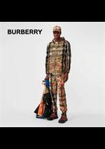 Catalogues et collections Burberry : Les nouveaux imprimés pour homme