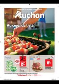 Prospectus Auchan BAGNOLET : Au coeur de l'été
