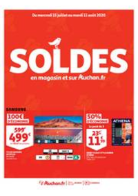 Promos et remises Auchan ISSY LES MOULINEAUX : SOLDES : en magasin et sur Auchan.fr
