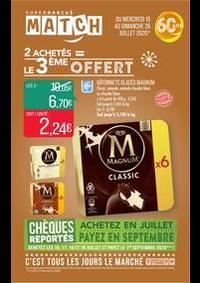 Prospectus Supermarchés Match Lannoy : 2 achetés = le 3ème offert