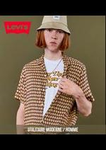 Catalogues et collections Levi's : Utilitaire Moderne  Homme