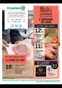 Prospectus E.Leclerc FRANCONVILLE : L'ARRIVAGE DU JOUR