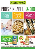 Prospectus NaturéO : Indispensables & bio