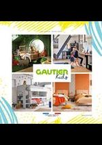 Prospectus  : Catalogue Gautier Kids