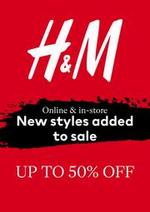 Prospectus H&M : Promotions H&M