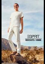 Prospectus Esprit : Nouveautés / Homme
