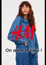 Prospectus H&M : On aime le bleu