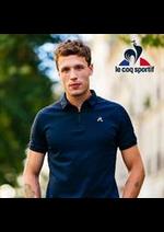 Prospectus Le Coq Sportif : Polos Pour Homme