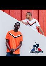 Prospectus Le Coq Sportif : Nouveautés Homme