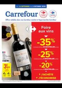Promos et remises Carrefour Market CINEY : folder Carrefour Market