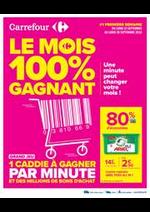 Jeux concours Carrefour : Le premier mois Anniversaire