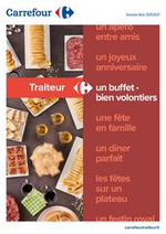 Prospectus Carrefour : Traiteur - Un buffet bien volontiers