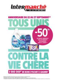 Prospectus Intermarché Super Beaumont-sur-Oise : TOUS UNIS CONTRE LA VIE CHÈRE