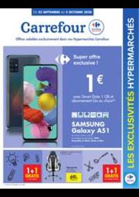 Prospectus Carrefour JAMBES : folder Carrefour