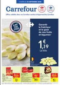 Prospectus Carrefour Market CINEY : folder Carrefour Market
