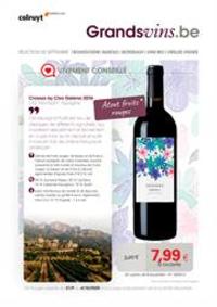 Prospectus Colruyt AMAY : Wijnrappel