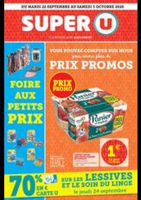 Prospectus Super U LE HAVRE - VERLAINE : Catalogue Super U