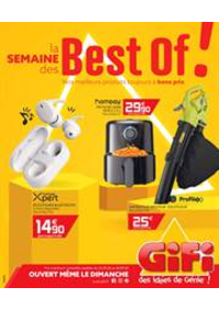 Prospectus Gifi GOUSSAINVILLE : La semaine des Best of!