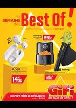 Prospectus Gifi : La semaine des Best of!