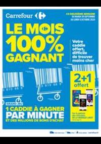 Prospectus Carrefour CHARENTON LE PONT : Le mois 100% gagnant #2