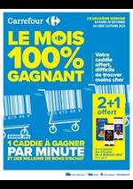Prospectus Carrefour : Le mois 100% gagnant #2