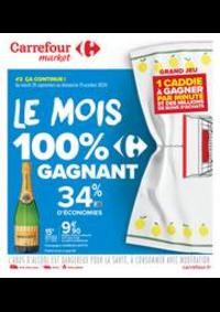Prospectus Carrefour Market Thonon-les-Bains - Avenue Jules Ferry : Le mois 100% gagnant