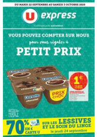 Promos et remises U Express Neuilly-sur-Marne : Catalogue U Express