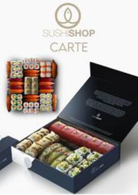 Prospectus Sushi shop Vincennes : Carte Sushi Shop