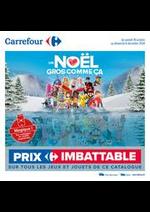 Prospectus Carrefour : Découvrez nos jouets de noël !