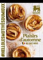Journaux et magazines Proxy Delhaize : Plaisirs d'automne