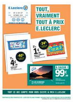 Prospectus E.Leclerc : TOUT, VRAIMENT TOUT À PRIX E.LECLERC