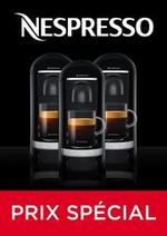 Prospectus Nespresso : Prix Spécial
