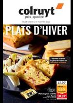 Prospectus Colruyt : Plats d'Hiver