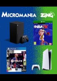 Prospectus Micromania LE MANS JACOBINS : Nouveautés Micromania