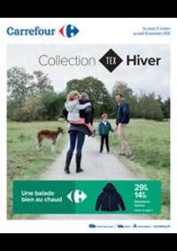 Prospectus Carrefour IVRY SUR SEINE : Collection HIVER