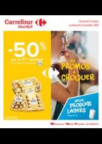 Promos et remises Carrefour Market GUYANCOURT : Les promos à croquer