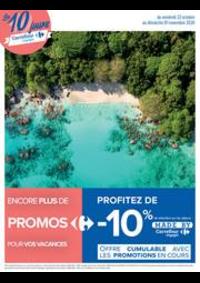 Prospectus Carrefour NIMES Ouest : Les 10 jours Carrefour Voyages