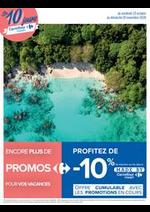 Prospectus Carrefour : Les 10 jours Carrefour Voyages