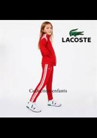 Prospectus Lacoste Aubervilliers Niveau 1 : Collection enfants