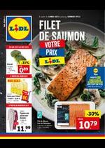 Promos et remises Lidl : Folder Lidl
