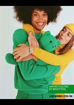 Catalogues et collections Benetton : Laine Merinos Extra-Fine  Homme