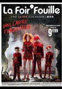 Prospectus La Foir'Fouille BRETIGNY SUR ORGE : Dans l'antre d'Halloween