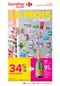 Promos et remises Carrefour Market Rennes Bourg l'Evêque rue de Brest : Le mois qui marque